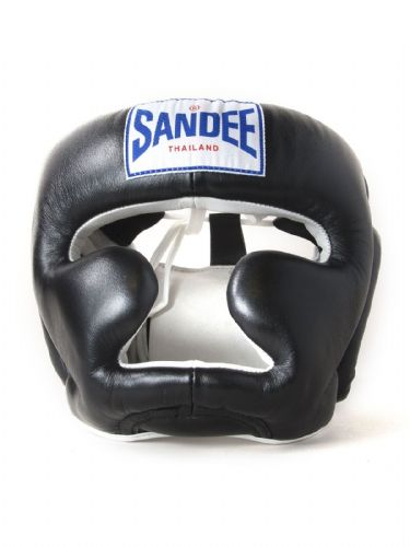 Sandee Kids Closed Face Head Guard - Black